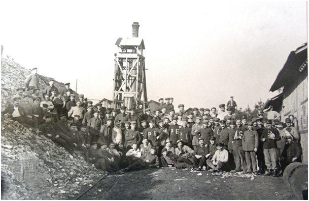 1916 1918 devant le chevalement