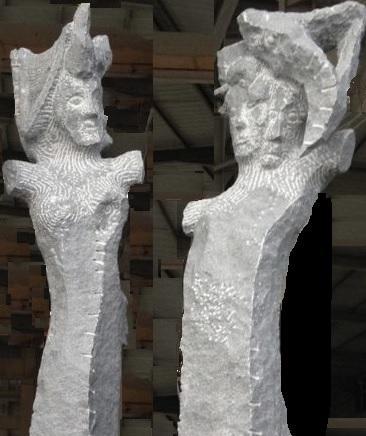 2 statues 2