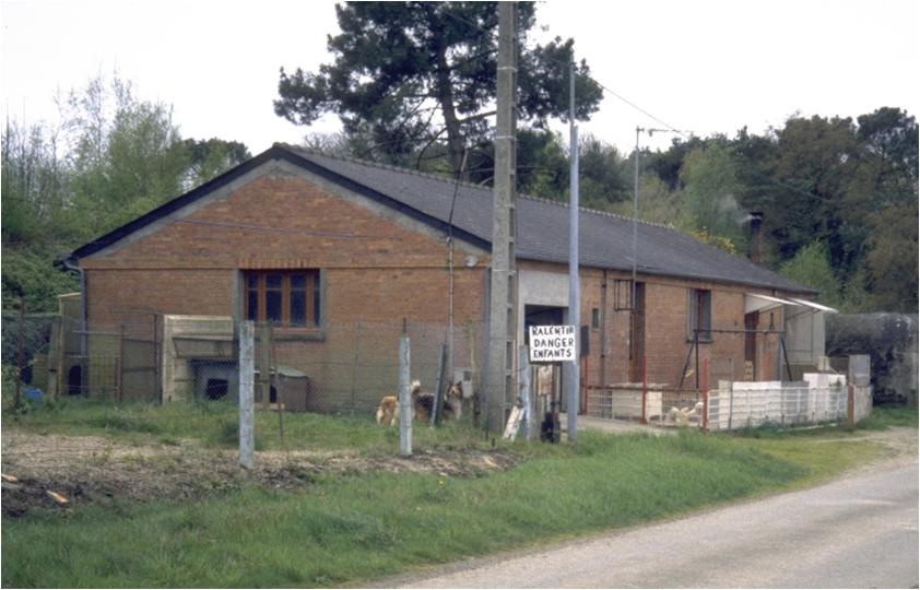 mais aussi les batiments construits par les allemands : maison de mineur