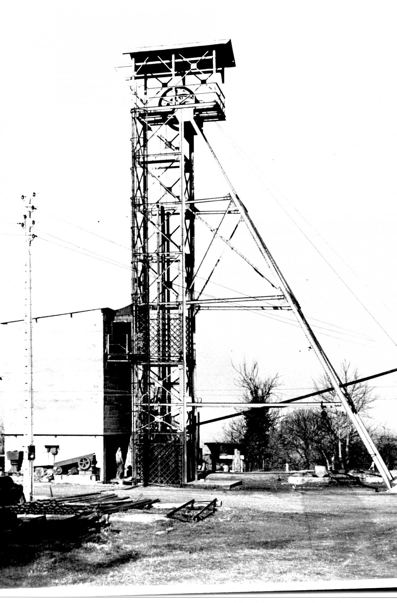 Chevalement 1958