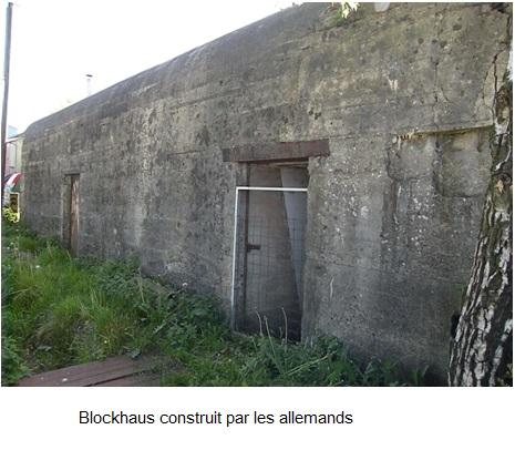 Blockhaus construit par les allemands 1