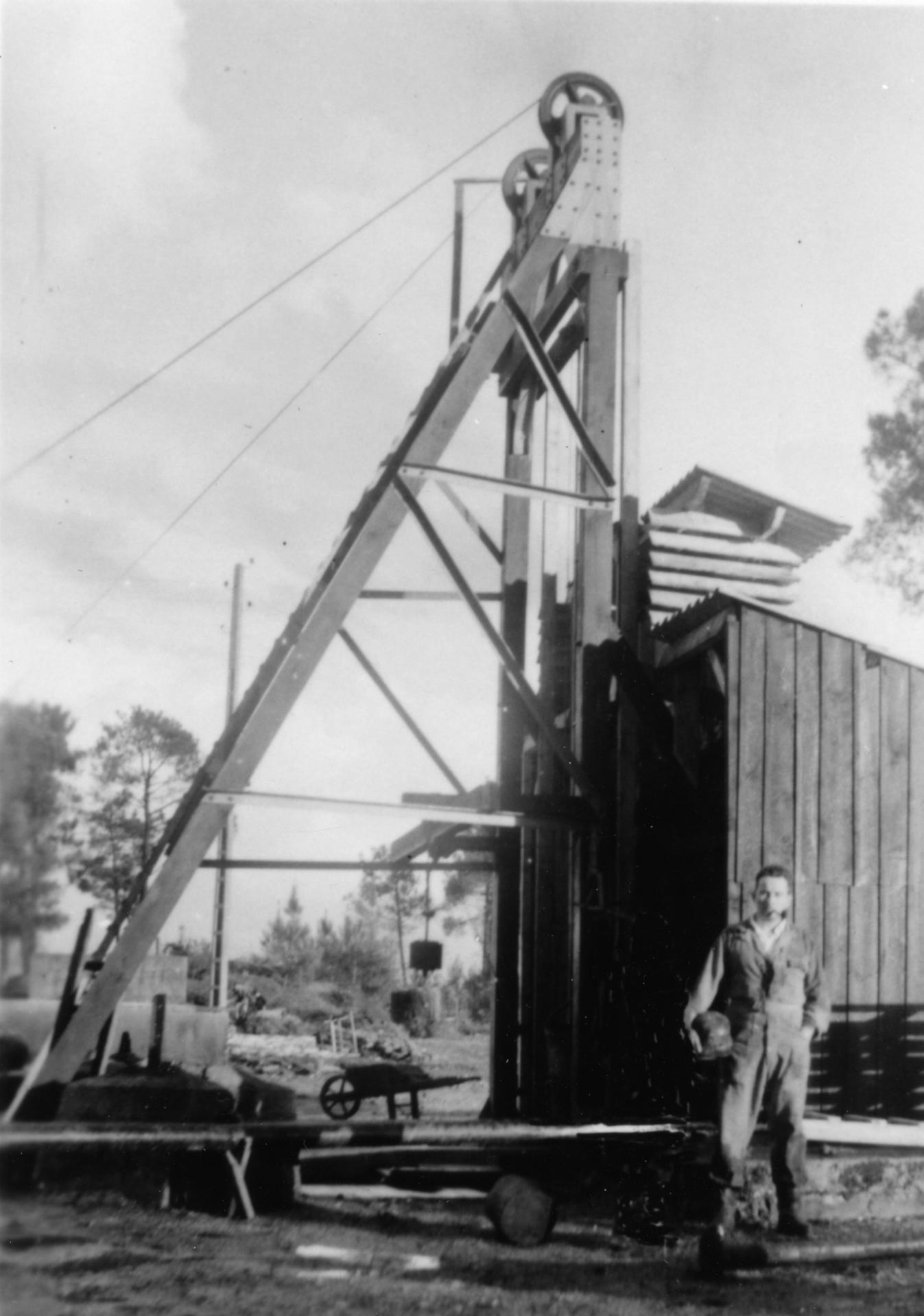 Chevalement 1952
