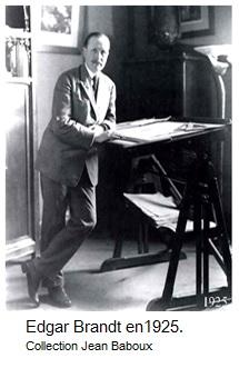 Edgar brandt en 1926