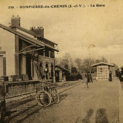 Gare de dompierre du chemin