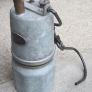 Lampe à acéthylène en 1983