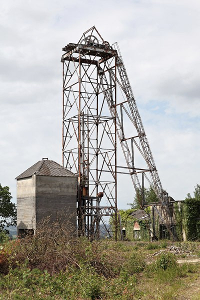 Le dernier chevalement minier de Bretagne