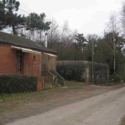 Montbelleux maison du gardien et blockhaus janvier 2011