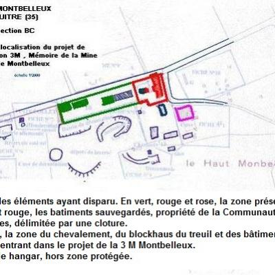 Plan du site apres la rehabilitation