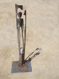 Sculpture de jean pierre weackel 16 juin 2012