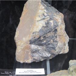 Wolfram, étain et beaucoup d'autres minéraux